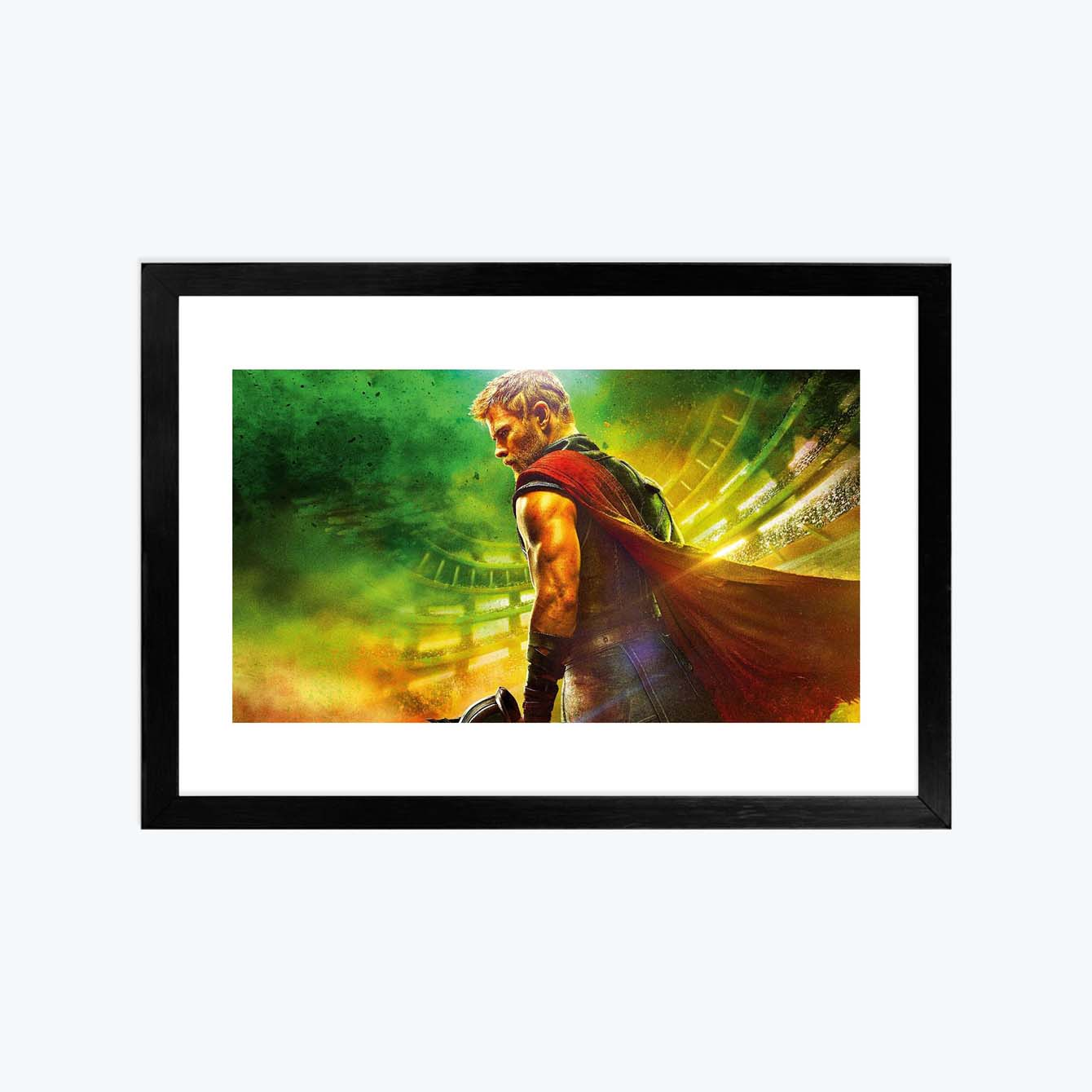 Thor Photography Glass Framed Posters & Artprints