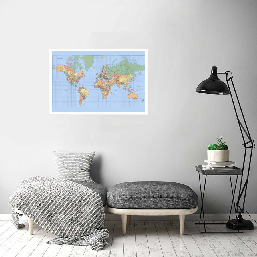 Map Education Posters