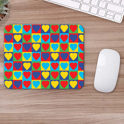 Buy Heart Pattern Mouse Pads Online