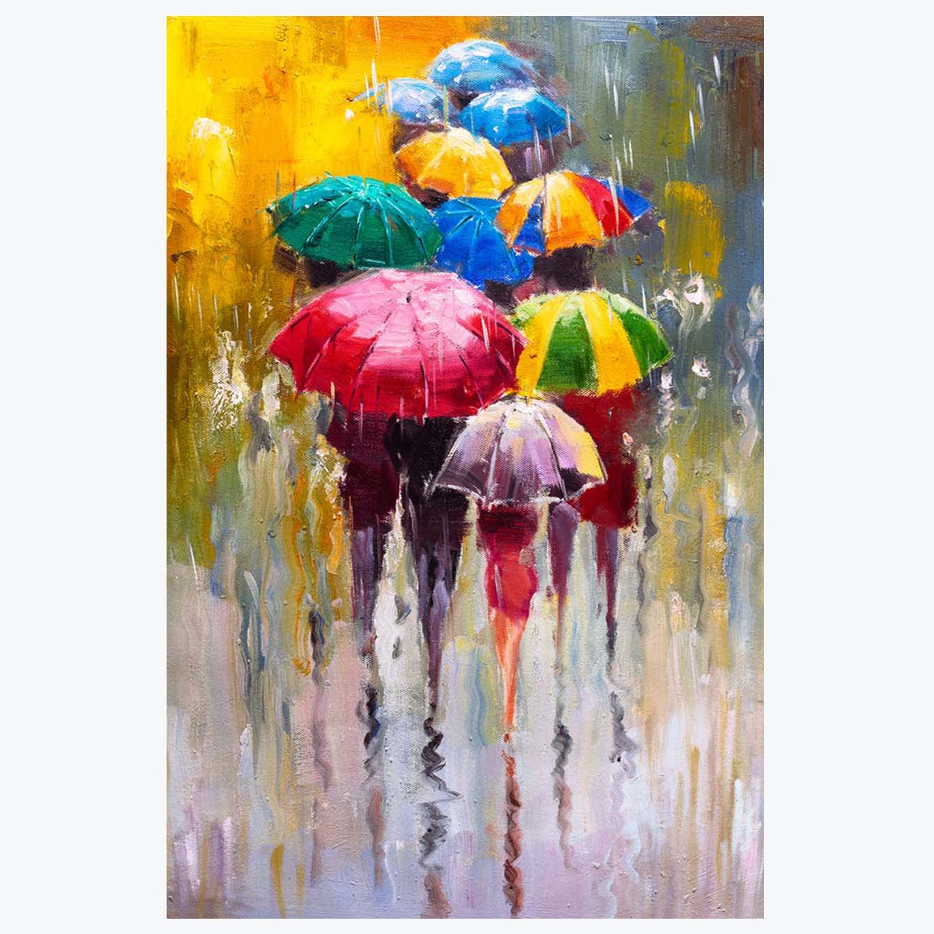Umbrella Painting Posters