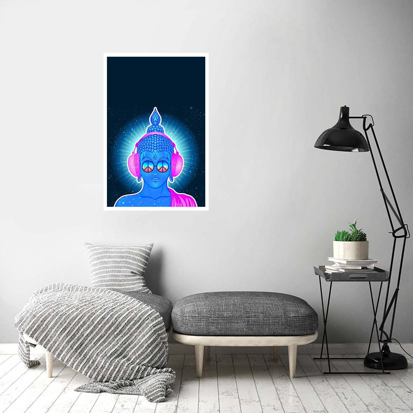 Buddha Pop Art Posters