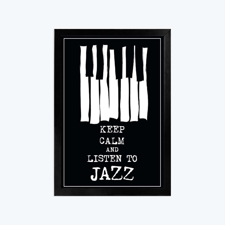 Jazz Framed Poster