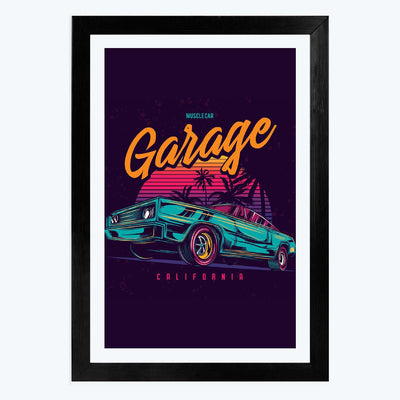 Garage Framed Poster