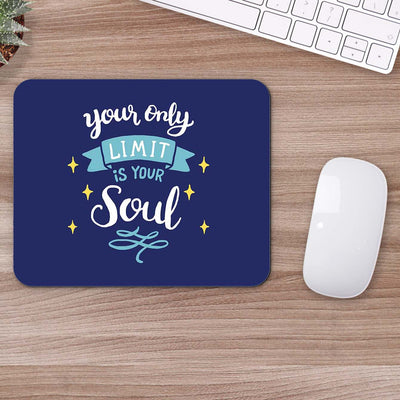 Buy You Only Limit Motivational Mouse Pads Online