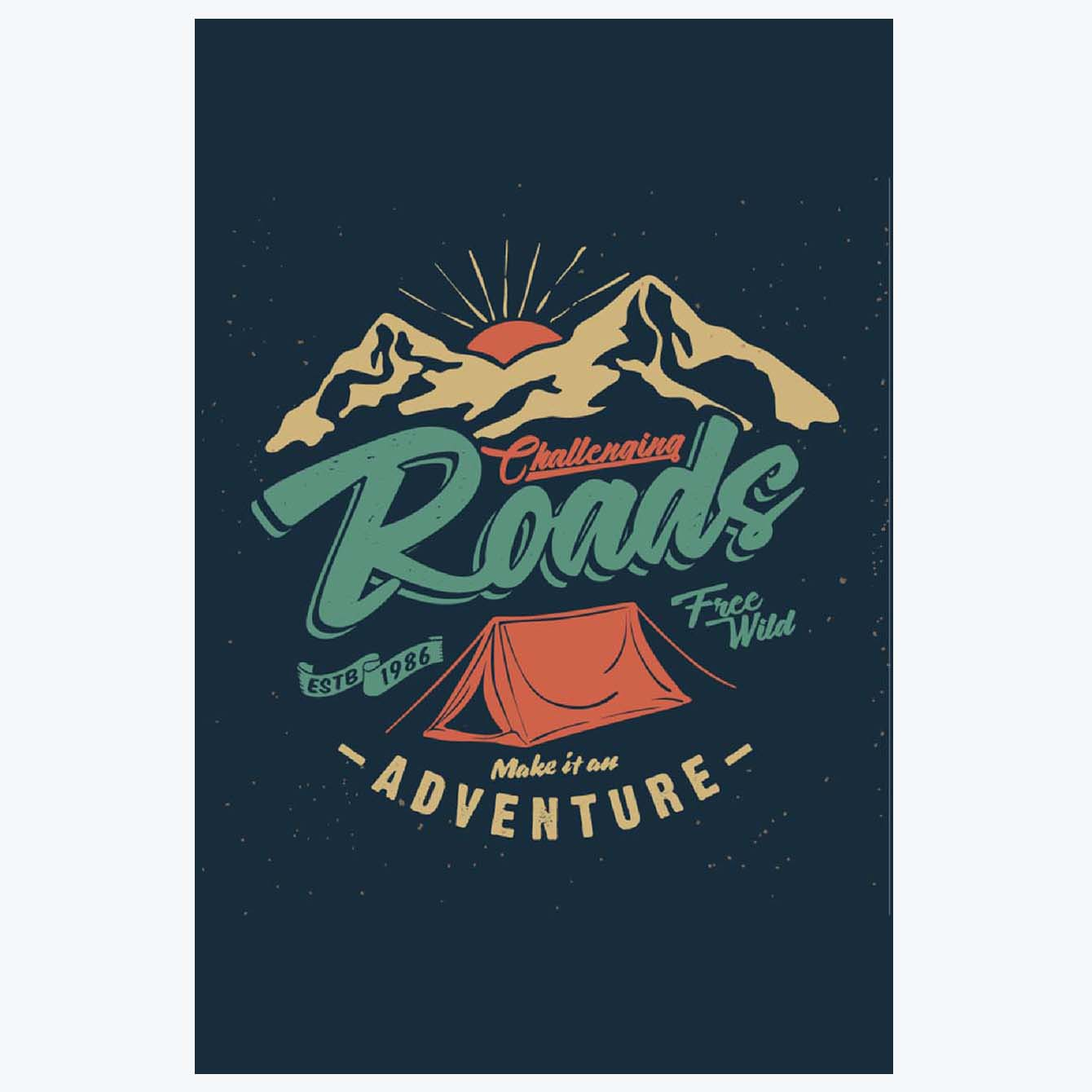 Roads Travel Posters