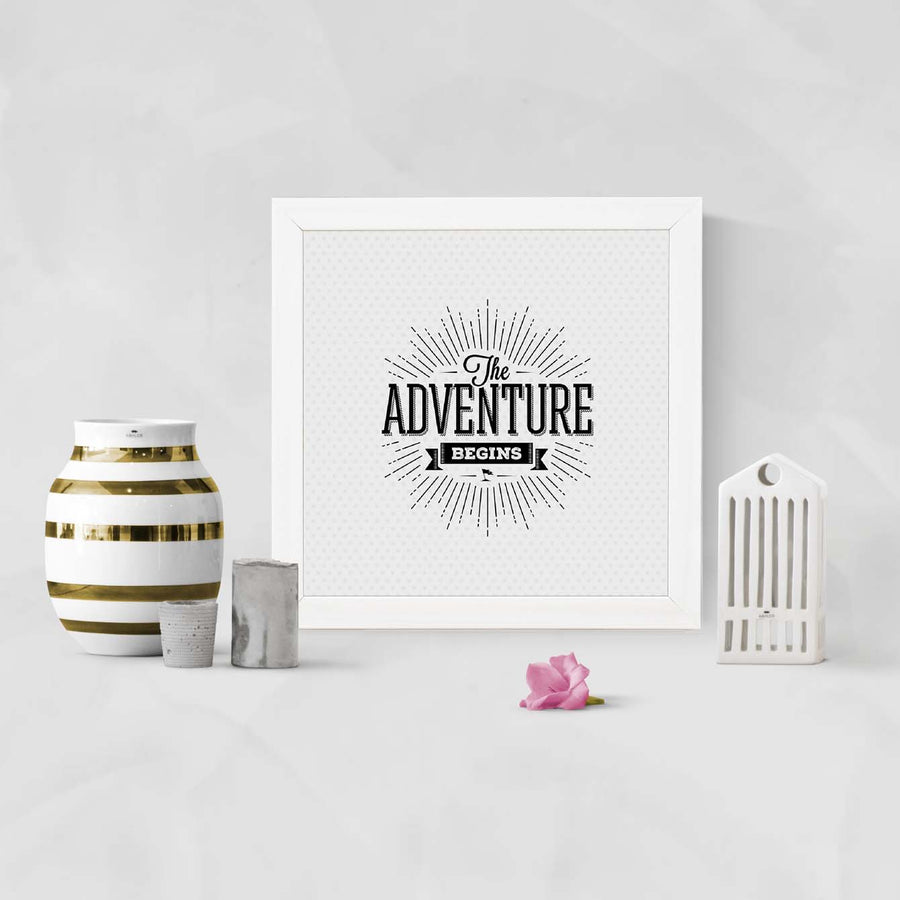 Adventures Framed Poster