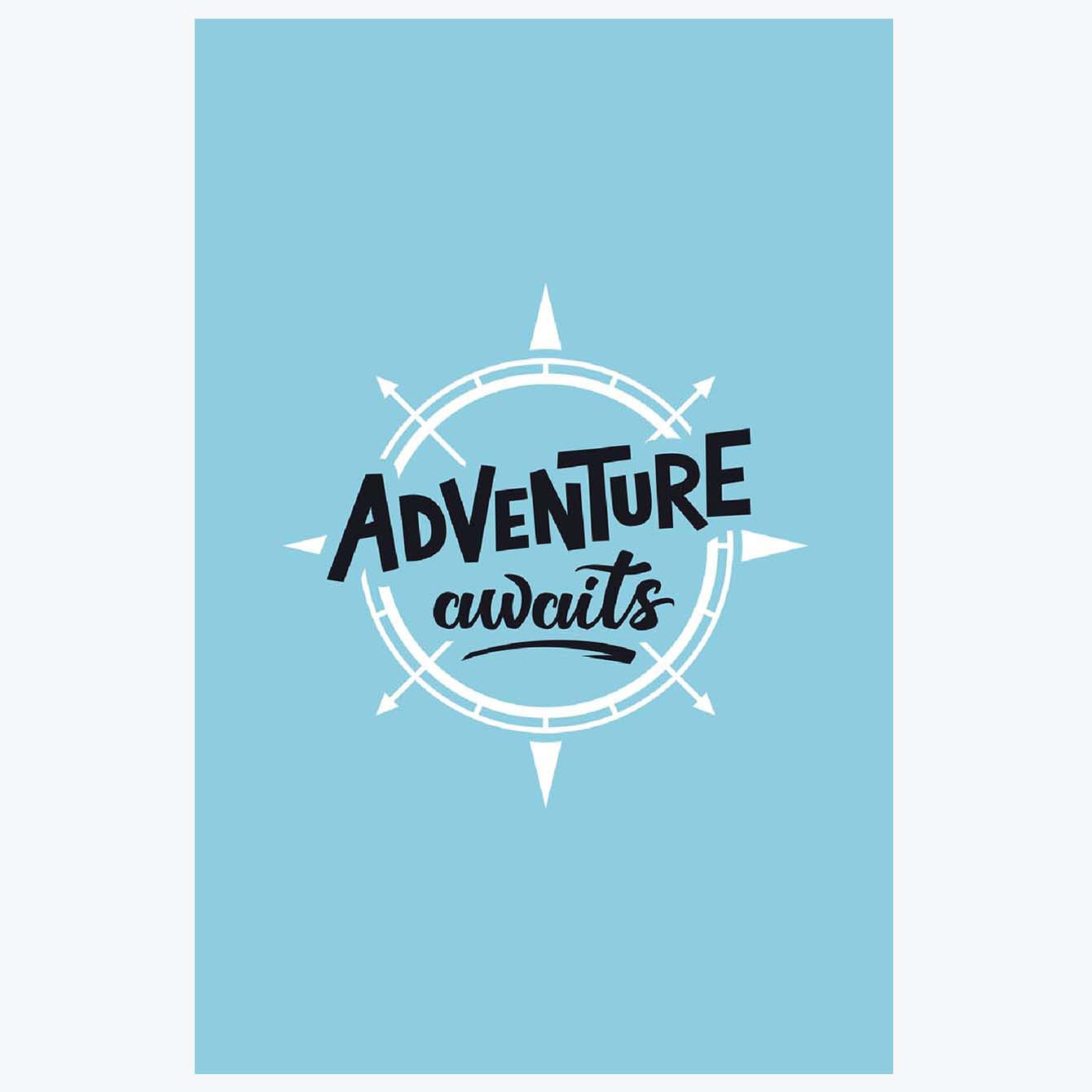 Adventure awaits Travel Posters
