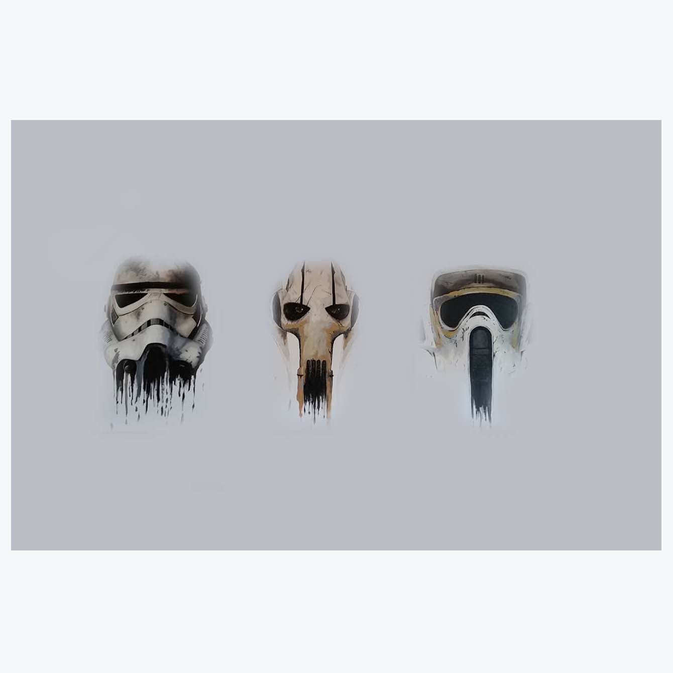 Star War Masks Movies Posters