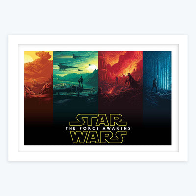 Star wars Framed Poster