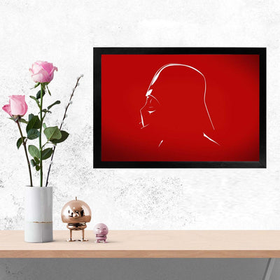 Daarth Vader Movies Glass Framed Posters & Artprints
