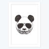 cool Panda Framed Poster