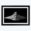 Star Wars Imperial Ship Framed Poster