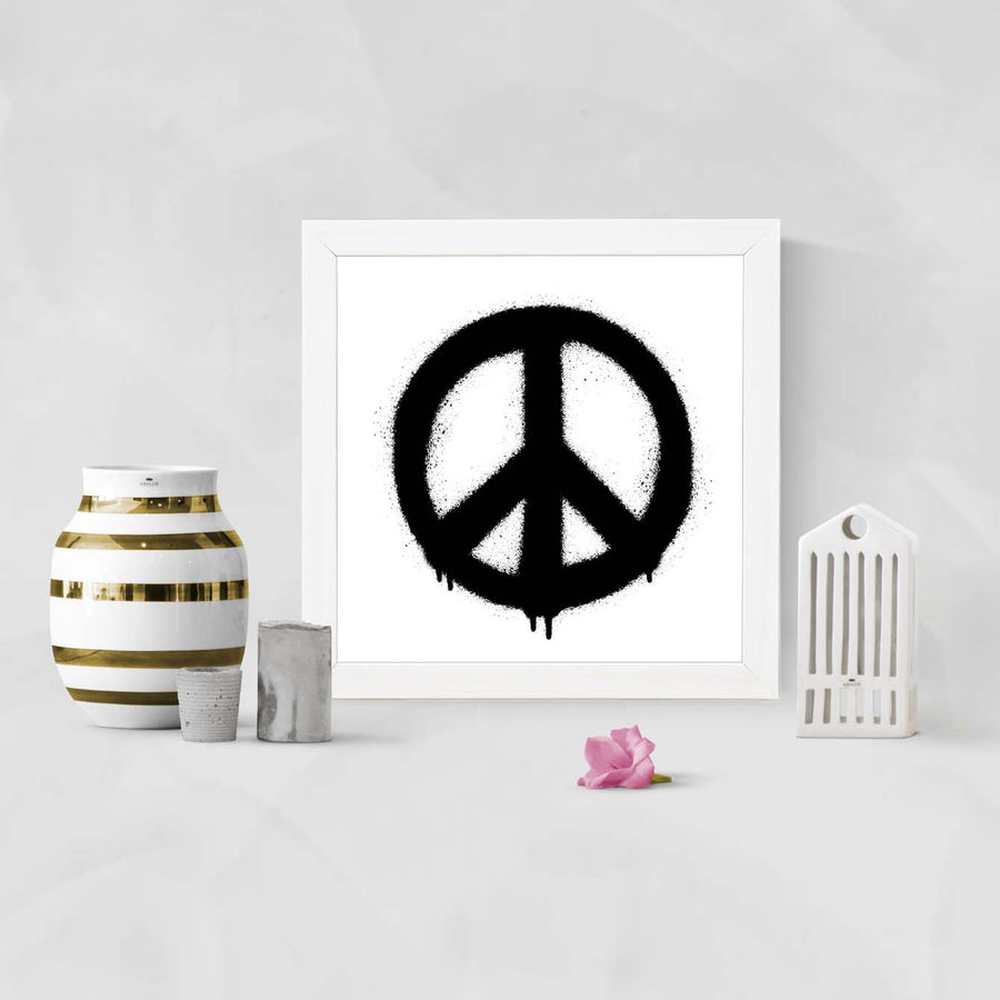 Make Peace Framed Poster