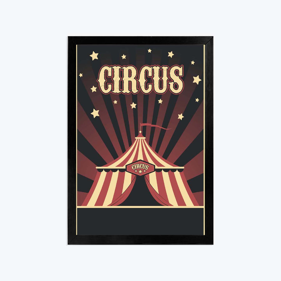 Circus Framed Poster