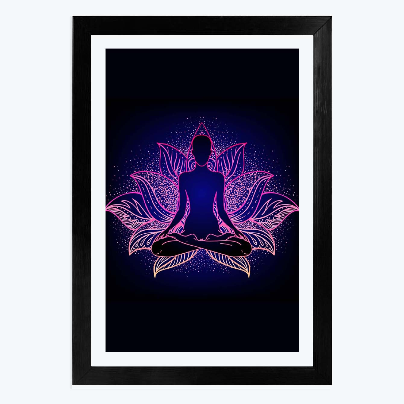 Buddha Good Luck Framed Poster