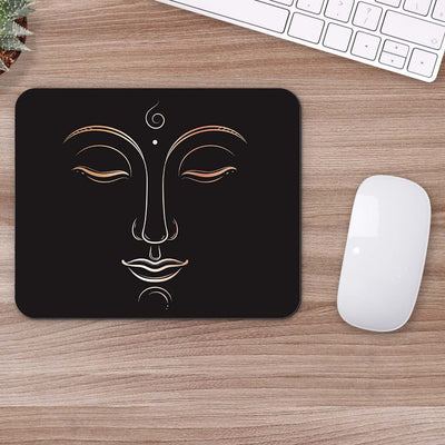 Buy Women Sketch Abstract Mouse Pads Online
