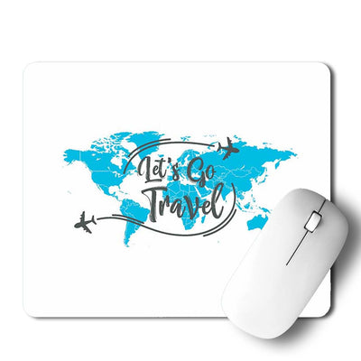 Let's Go Travel Mouse Pad