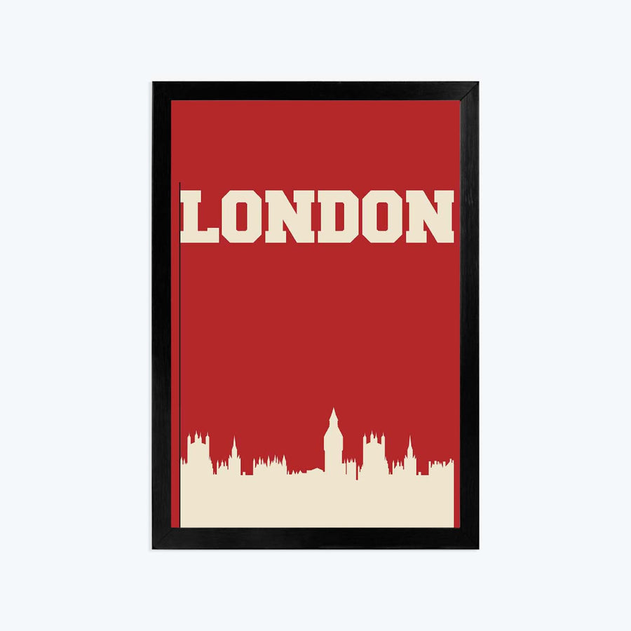 London Framed Poster