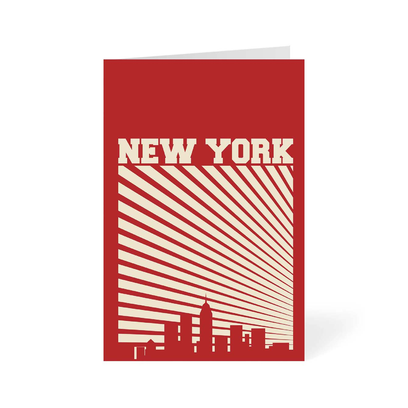New York Cities Greeting Card Online