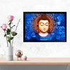 Buddha Spritual Glass Framed Posters & Artprints