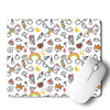 Unicorn Peace Mouse Pad
