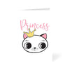 Princess Bunny Cartoon Greeting Card Online