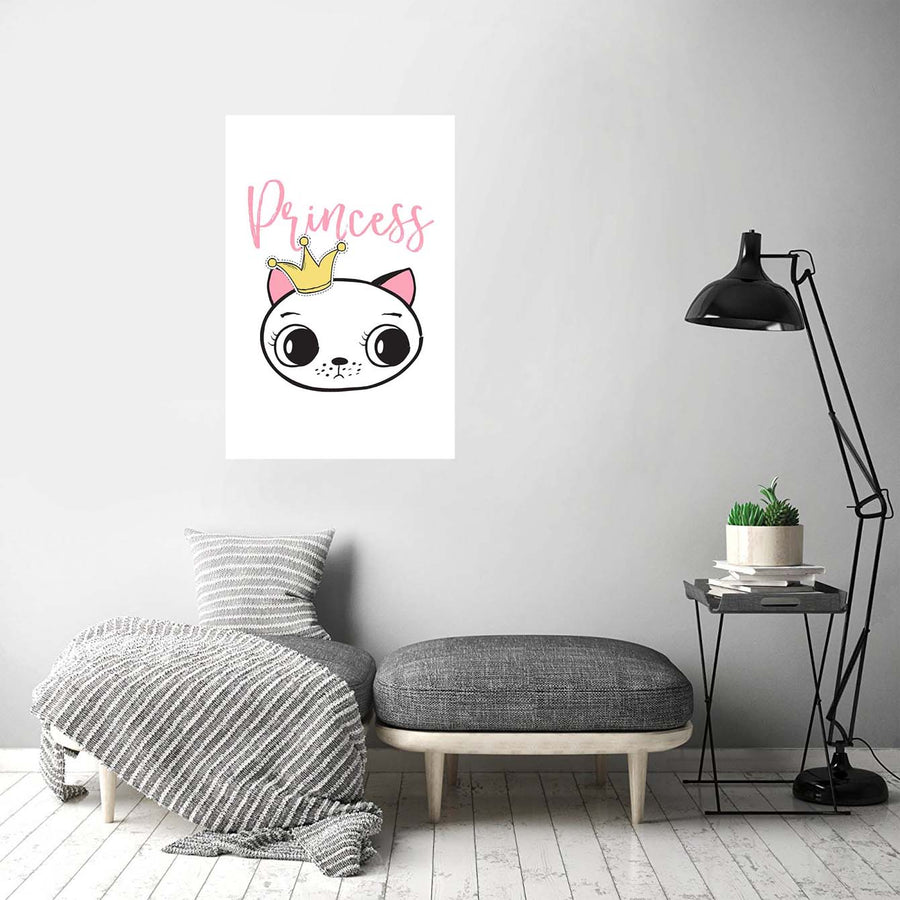Princess Bunny Cartoon Posters