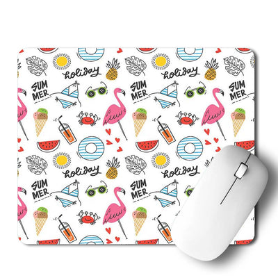Summer Doodle Mouse Pad