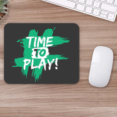 Buy Time to play Motivational Mouse Pads Online