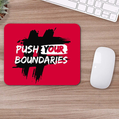 Buy Push Your Boundaries Motivational Mouse Pads Online