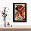 Love Fitness Typography Glass Framed Posters & Artprints