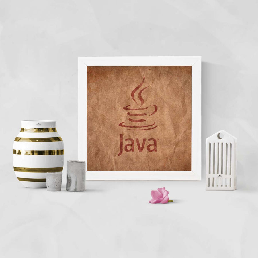 Java Education Glass Framed Posters & Artprints