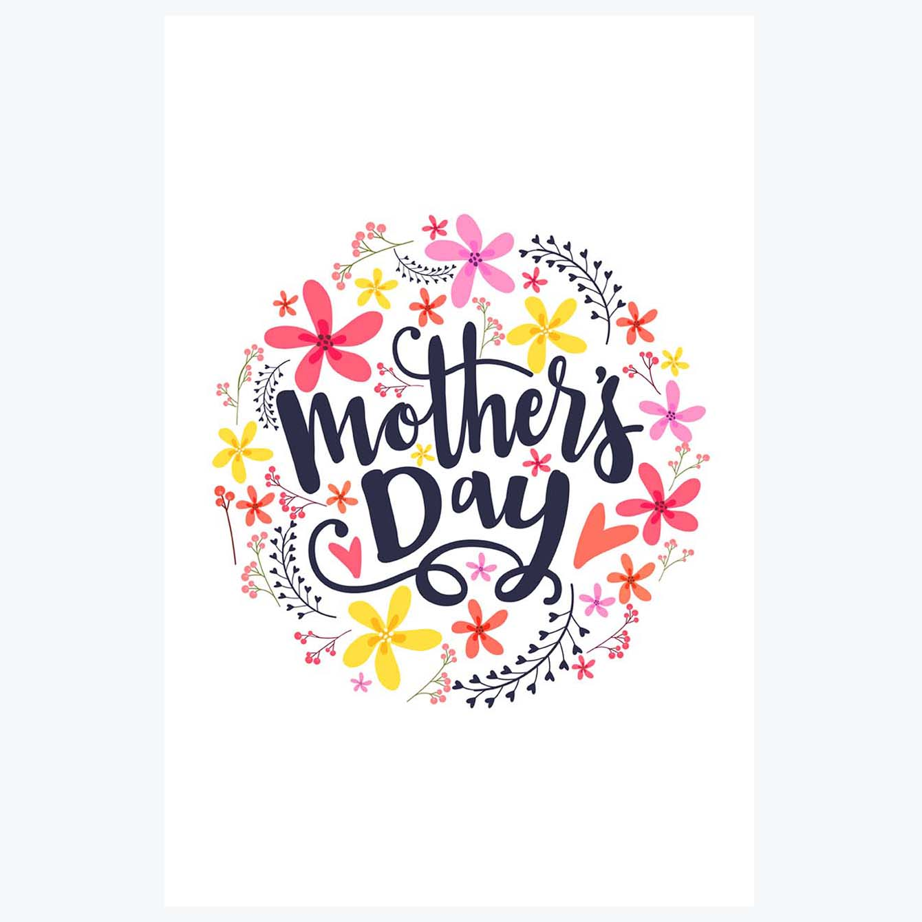 MOthers Day Flower Posters