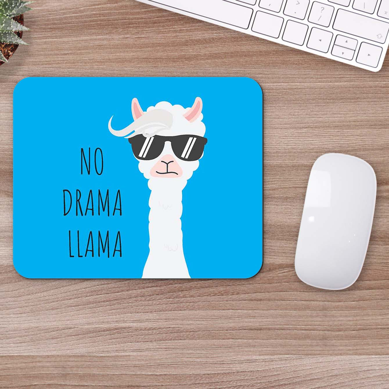 Buy No Drama Llama Abstract Mouse Pads Online