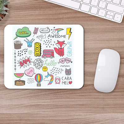 Buy Xoxo Doodle Doodle Mouse Pads Online
