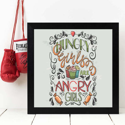 Hungry   Framed Poster