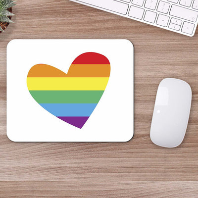 Buy Heart LGBT Abstract Mouse Pads Online