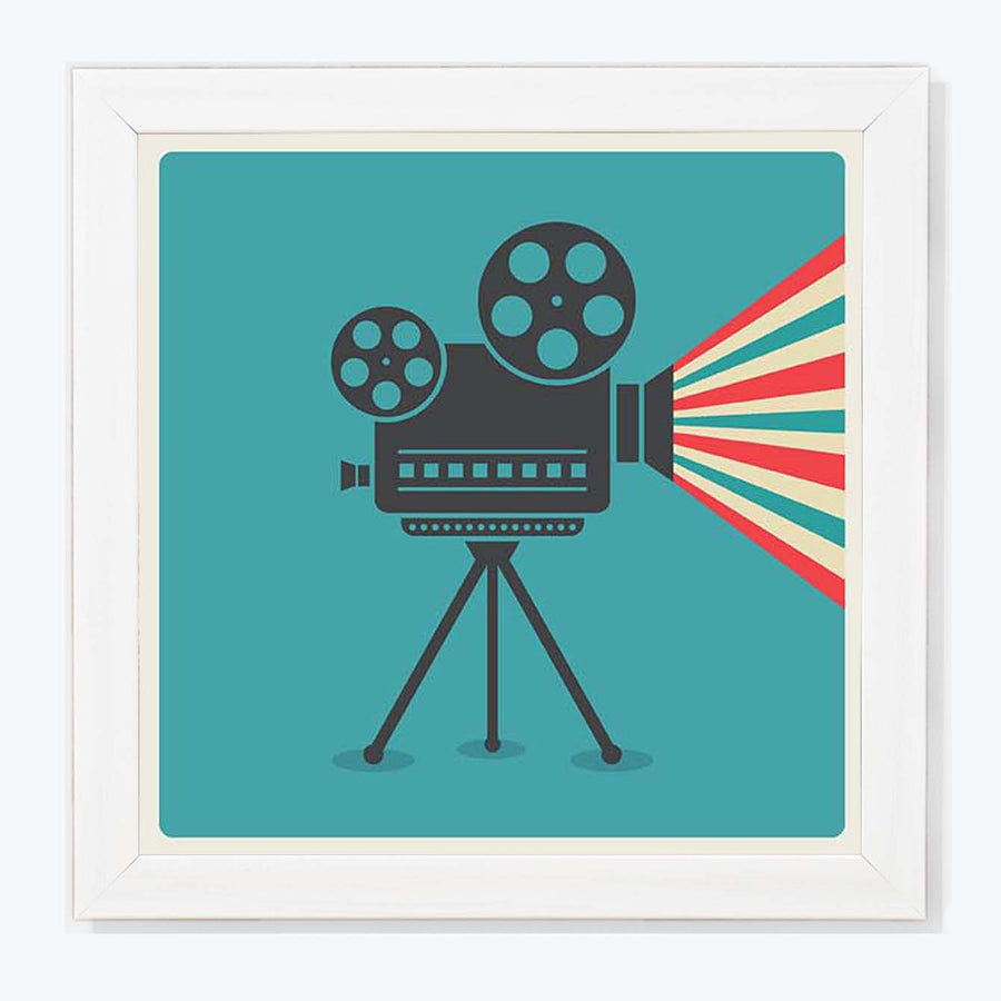 Cinema Camera   Framed Poster