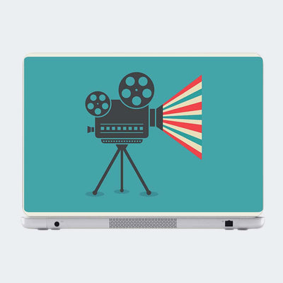 Cinema Camera Retro Laptop Skin Online