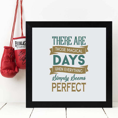 Magic Day Framed Poster