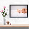 Cute Baby Baby Glass Framed Posters & Artprints