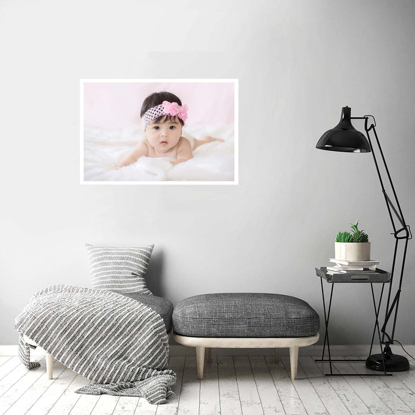 Baby Girl Baby Posters