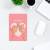 Pinky Promise Abstract Post Cards Online