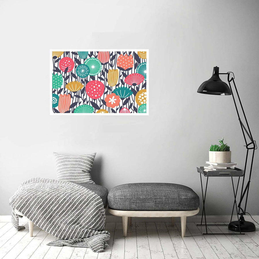 Floral Flower Flower Posters