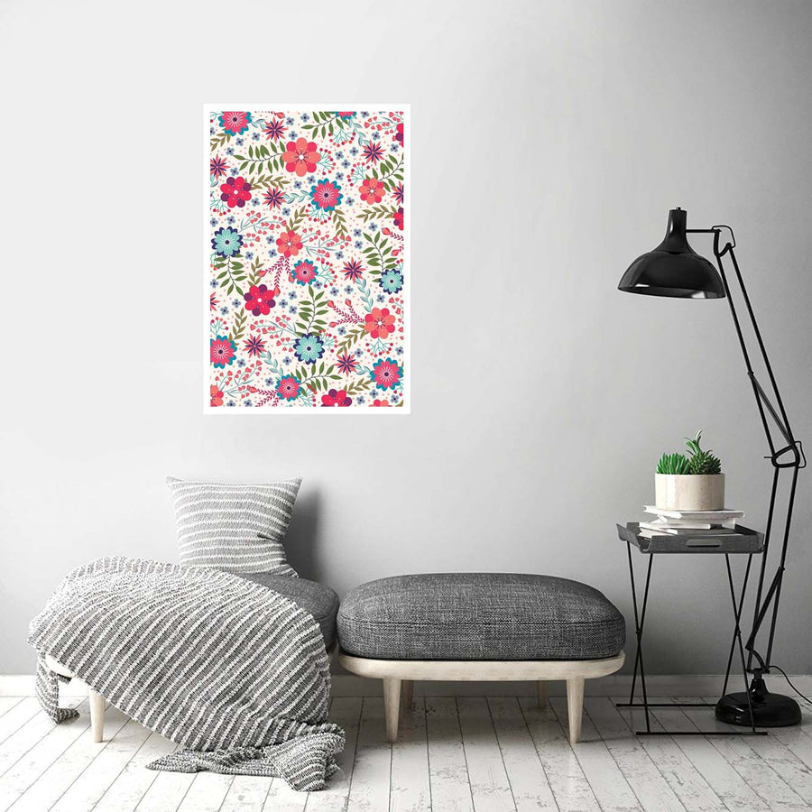 Floral Flower Posters