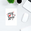 My Love Abstract Post Cards Online