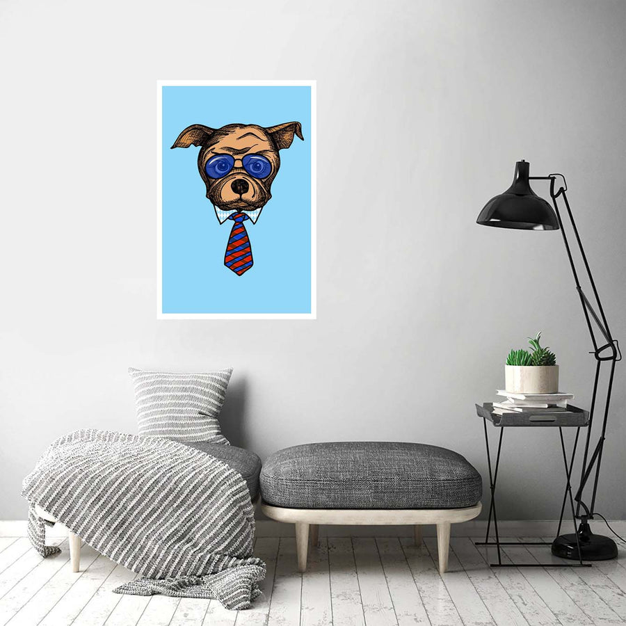 Mr. Dog Business Animal Posters