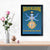 India Religion Painting Glass Framed Posters & Artprints