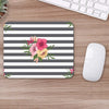 Buy Stripe Flower Flower Mouse Pads Online