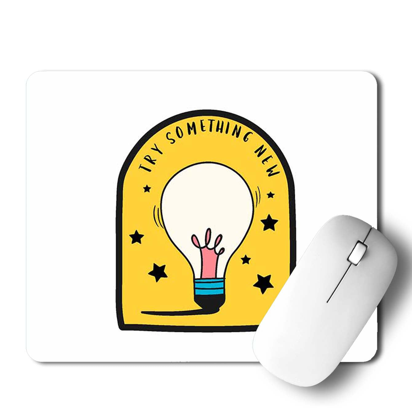 Buy Try Something New Motivational Mouse Pads Online